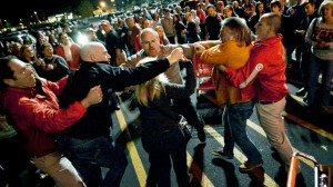 Fist fights: a common occurrence on Black Friday (via ABC News)